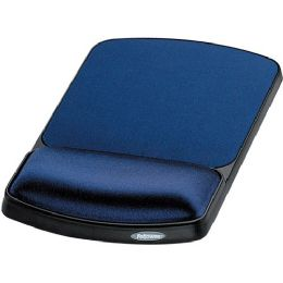 20 Units of Fellowes Gel Wrist Rest And Mouse Rest - Sapphire/black - Consumer Electronics