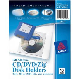Avery SelF-Adhesive Media Holder - Data Media