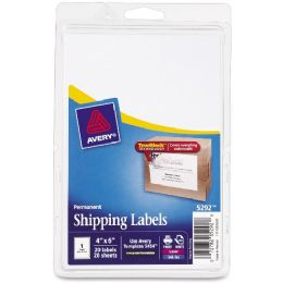 Avery Shipping Labels With Trueblock Technology - Labels