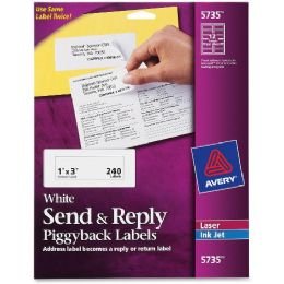 Avery Specialty Piggyback Mailing Labels - Labels