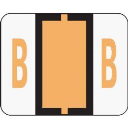 Smead 67072 Light Orange Bccr BaR-Style ColoR-Coded Alphabetic Label - B - Labels