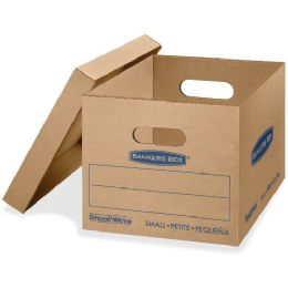 Fellowes Lift-Off Lid Classic Small Moving Boxes - Boxes & Packing Supplies