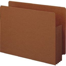 Smead 73780 Redrope Extra Wide End Tab Tuff Pocket File Pockets With Reinforced Tab - File Folders & Wallets
