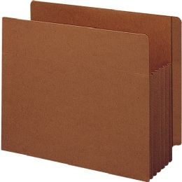 Smead 73790 Redrope Extra Wide End Tab Tuff Pocket File Pockets With Reinforced Tab - File Folders & Wallets