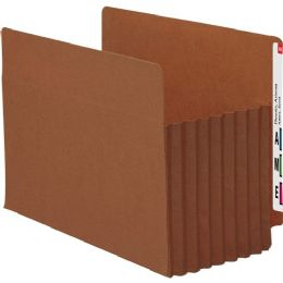 Smead 73795 Redrope Extra Wide End Tab Tuff Pocket File Pockets With Reinforced Tab - File Folders & Wallets