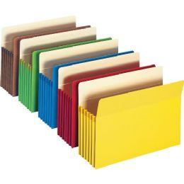 Smead 73836 Assortment Colored File Pockets - File Folders & Wallets