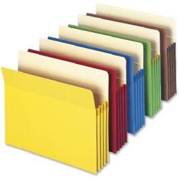Smead 73890 Assortment Colored File Pockets - File Folders & Wallets