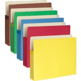 Smead 73892 Assortment Colored File Pockets - File Folders & Wallets