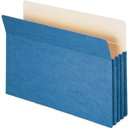 Smead 74225 Blue Colored File Pockets - File Folders & Wallets