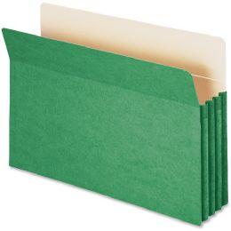 Smead 74226 Green Colored File Pockets - File Folders & Wallets