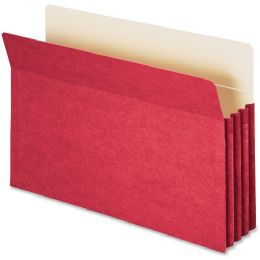 Smead 74231 Red Colored File Pockets - File Folders & Wallets