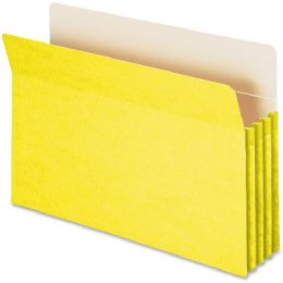 Smead 74233 Yellow Colored File Pockets - File Folders & Wallets