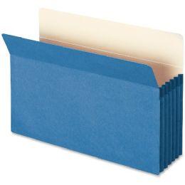 Smead 74235 Blue Colored File Pockets - File Folders & Wallets