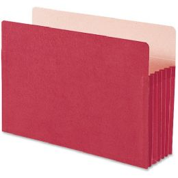 Smead 74241 Red Colored File Pockets - File Folders & Wallets