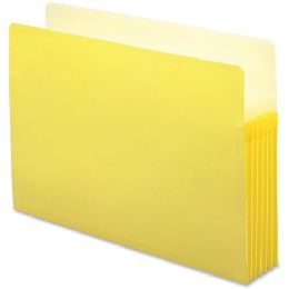 30 Units of Smead 74243 Yellow Colored File Pockets - File Folders & Wallets