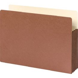 Smead 74264 Redrope File Pockets With TyveK-Lined Gusset - File Folders & Wallets