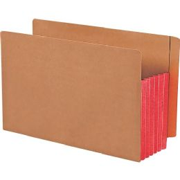 2 Units of Smead 74696 Red Extra Wide End Tab File Pockets With Reinforced Tab And Colored Gusset - File Folders & Wallets