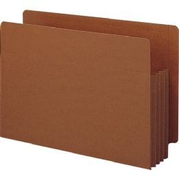 Smead 74780 Redrope Extra Wide End Tab Tuff Pocket File Pockets With Reinforced Tab - File Folders & Wallets