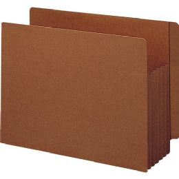 Smead 74790 Redrope Extra Wide End Tab Tuff Pocket File Pockets With Reinforced Tab - File Folders & Wallets