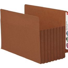 Smead 74795 Redrope Extra Wide End Tab Tuff Pocket File Pockets With Reinforced Tab - File Folders & Wallets