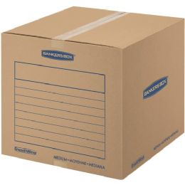 Fellowes Smoothmove Basic Moving Boxes, Medium - Boxes & Packing Supplies