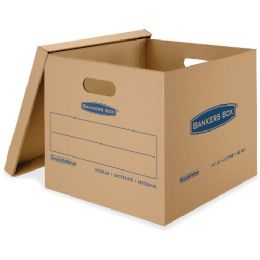 Fellowes Smoothmove Classic Moving Boxes, Medium - Boxes & Packing Supplies