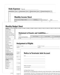 Personal Finance Pack Collection, Forms And Instructions - Office Supplies