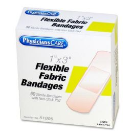 48 Units of Physicianscare First Aid Adhesive Bandage Refill - Office Supplies