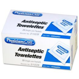 78 Units of Physicianscare First Aid Antiseptic Towelette Refill - Office Supplies