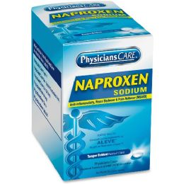 24 Units of Physicianscare Naproxen Sodium (compare To Aleve), 50 Doses - Office Supplies