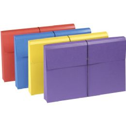 10 Units of Smead 77300 Assortment Colored Expanding Wallets With Antimicrobial Product Protection - File Folders & Wallets
