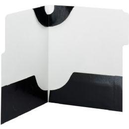 20 Units of Smead 87963 Black Supertab TwO-Pocket File Folder - File Folders & Wallets