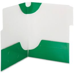 20 Units of Smead 87965 Green Supertab TwO-Pocket File Folder - File Folders & Wallets
