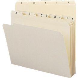 5 Units of Smead Indexed File Folder Set 11769 - File Folders & Wallets