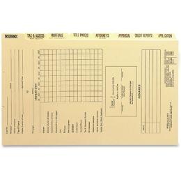 Smead Mortgage Folder Printed Replacement Divider Sets 78278 - Folders & Portfolios