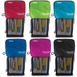 Five Star Stand 'n Store Carrying Case (pouch) For Pencil, Accessories - Assorted - Pens & Pencils