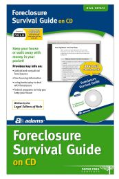 Foreclosure Survival Guide, Cd Version - Office Supplies
