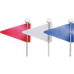 Gem Office Products Triangular Map Flag - Flag
