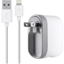 Belkin AC Swivel Lightning Cable iPhone 5 Charger - Cable wire