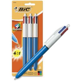 36 Units of Bic 4-Color Ballpoint Pen - Ballpoint Pens