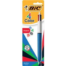 144 Units of BIC 4-Color Retractable Pen - Pens & Pencils