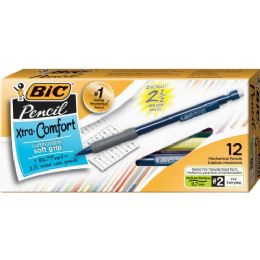 36 Units of BIC Bicmatic Grip Mechanical Pencil - School and Office Supply Gear