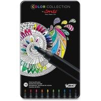 24 Units of BIC Color Collection Coloring Felt Pens - Pens & Pencils