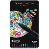 24 Units of BIC Color Collection Coloring Pencils - Office Supplies