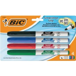 72 Units of BIC Great Erase Whiteboard Markers - Markers