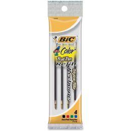 144 Units of BIC Recharge 4-Color Retractable Pen Refills - Pens & Pencils