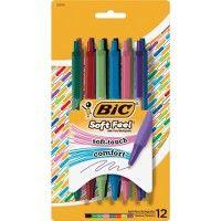 36 Units of BIC Soft Feel Ball Pen - Pens & Pencils