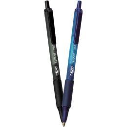 12 Units of BIC SoftFeel Retractable Ball Pens - Pens & Pencils