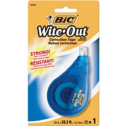 108 Units of BIC Wite-Out Correction Tape - Tape & Tape Dispensers