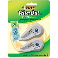 72 Units of BIC Wite-Out Correction Tape - Tape & Tape Dispensers